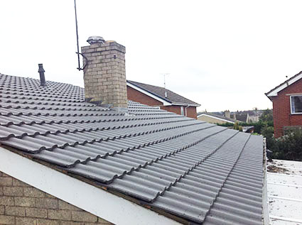 New roofs and chimneys in Whitchurch, Shropshire
