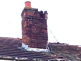Chimney repairs and roof repairs