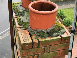 Chimney and flashing repairs