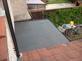 Flat roof repairs in Cheshire