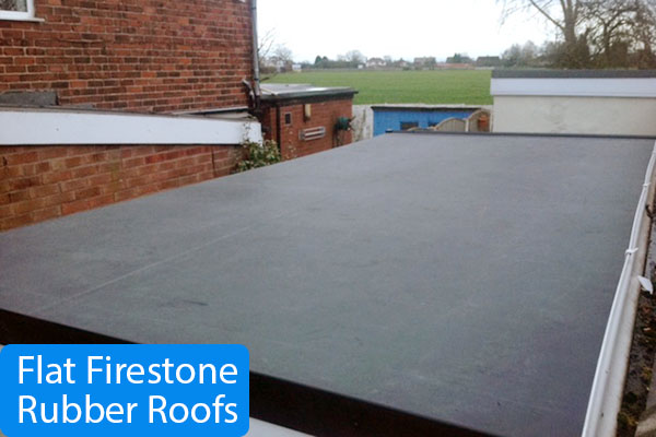 Flat roof in Whitchurch