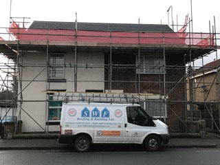 Roof repair in Cheshire